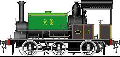 国鉄1290形蒸気機関車