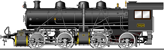 蒸気機関車イラスト集