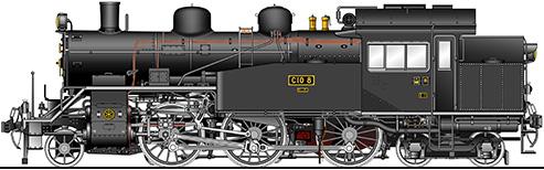 c10形 蒸気機関車